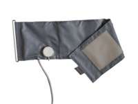 Manžeta suchý zip pro varius privat, dospělí, 33-41 cm, velká, šedá